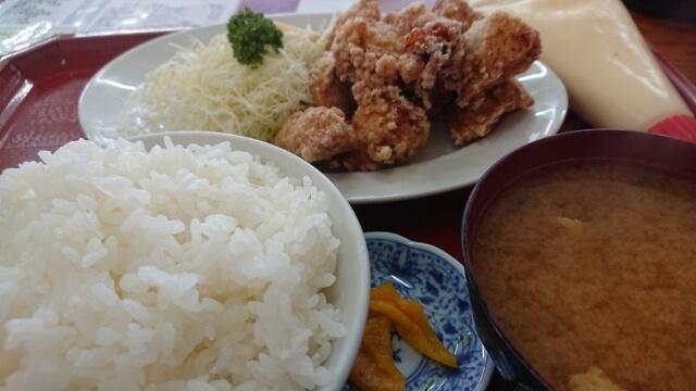 絶メシロード「食堂S.S」唐揚げ定食