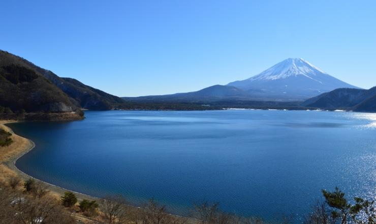 本栖湖ブルー