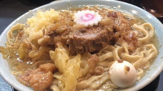 自家製麺 NO11 ラーメン